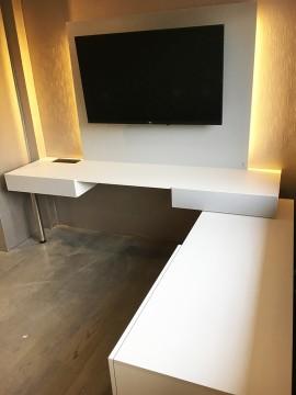 Mueble TV / Biblioteca Las Condes